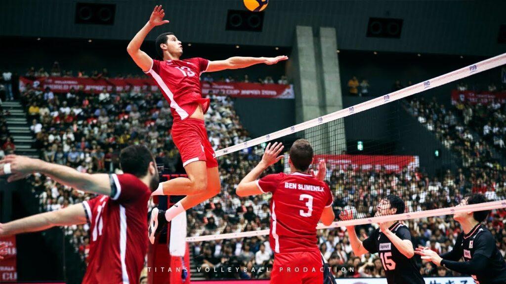 Collegiate Volleyball Vertical Jump